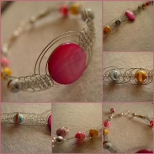 handmade, jewellery, agate, macrame, shambala, unique, women, jewelry, bright colours,
